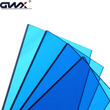 Suitable for Bending Design Solar Control Ability Uv Protected Polycarbonate Solid Sheet