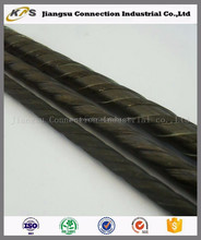 low price SWRH82B full threaded concrete PC steel wire export to india