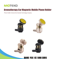 Aromatherapy Car Magnetic Mobile Phone Holder Perfume Metal Magnet 360 Air Vent Aroma Mount Holder Stand