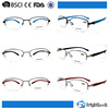 Wenzhou hot selling half frame eyewear customized reading glasses for men and women