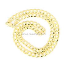 Different Type Of Stainless Steel Curb Heavy 7mm wide Chain Mens Necklace With Logo