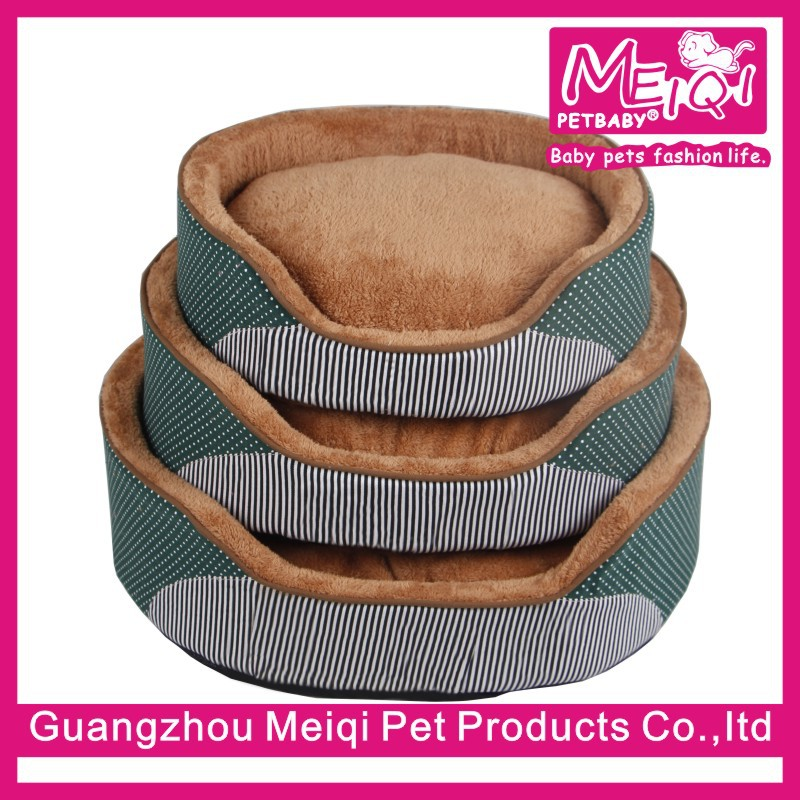 Superior dog bed with removable cushion
