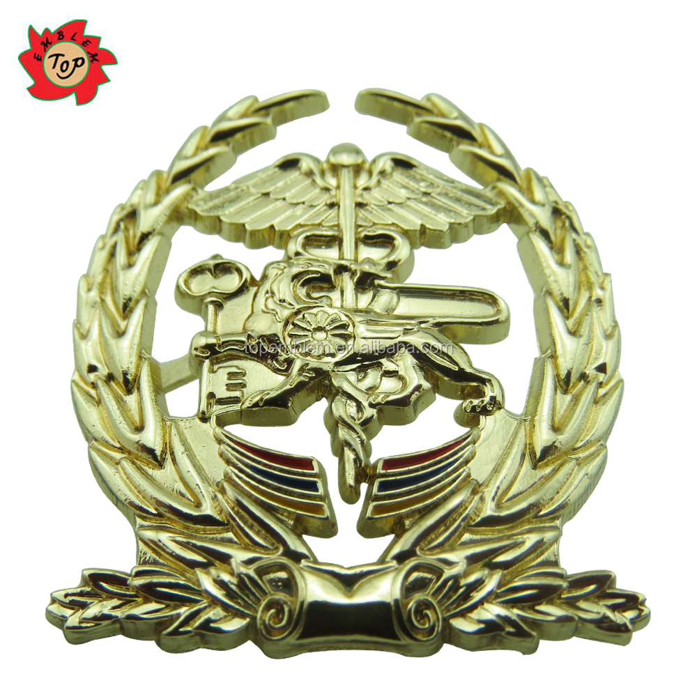3D Eagle/Lion Lapel Pins Custom Design Zinc Alloy