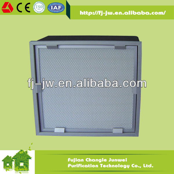 High dust holding capacity low resistance HEPA aluminum conditioning Air Diffuser