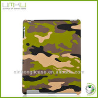 Fashionable style plastic back cover case for ipad 3 back cover