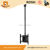 P63-B Best sellers universal fits for 32 to 63 inch television TV Ceiling set-up box mount