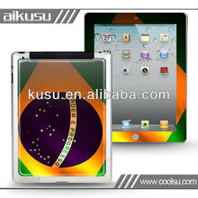body skin sticker for newipad with PU glue passed CE ROHS