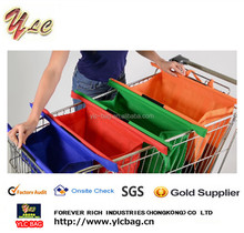 Factory Wholesale Reusable Trolley Shopping Bags / Trolley Bags Supermarket / Trolley Bag For Cart
