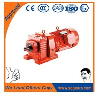 Buy discount helical electric motor gear reducers Milling Machine