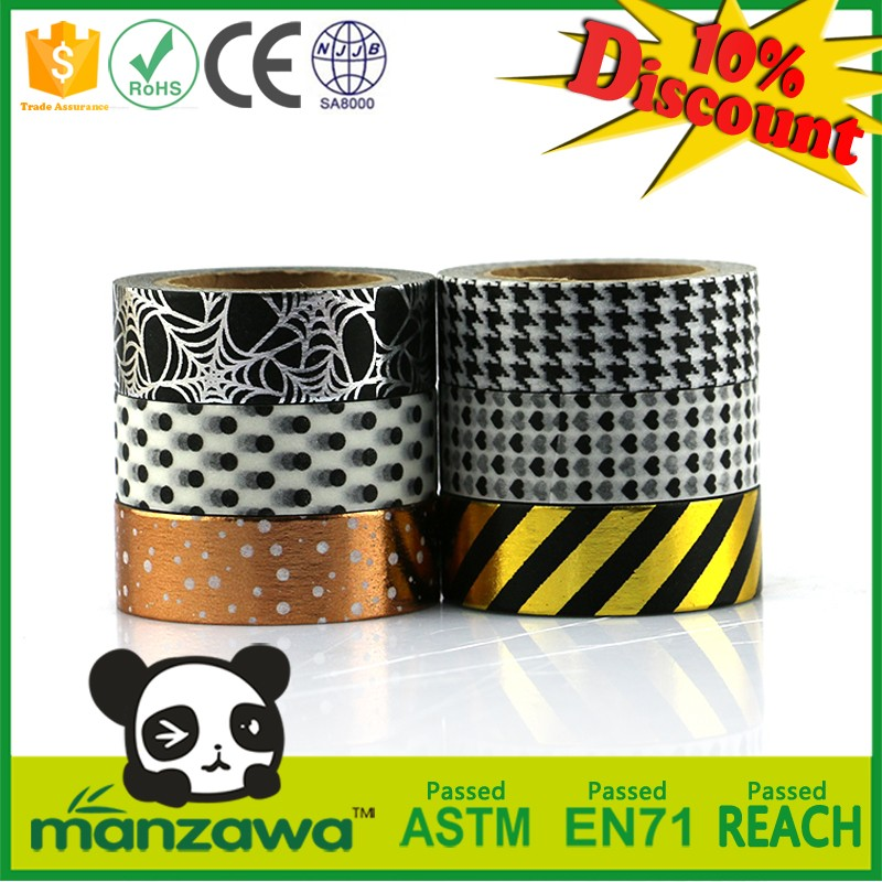 Custom printed thermo tape rice tape glitter tape