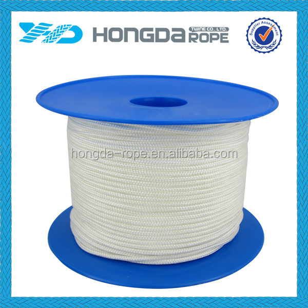 2mm,3mm,4mm,5mm,6mm polyamide rope nylon braided cord rope
