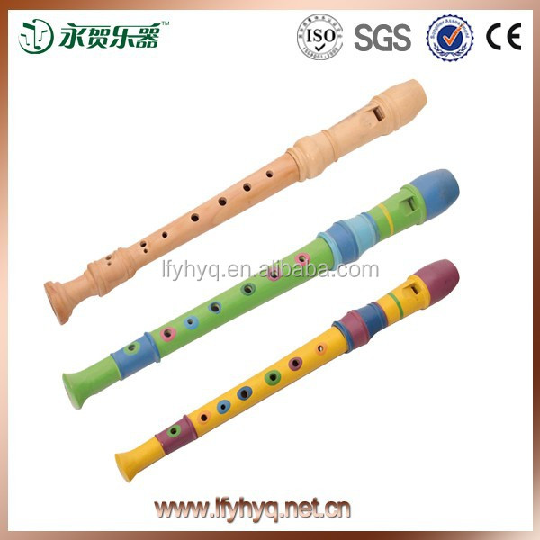 2015 China hot sell kid toy musical wind instrument bamboo flute