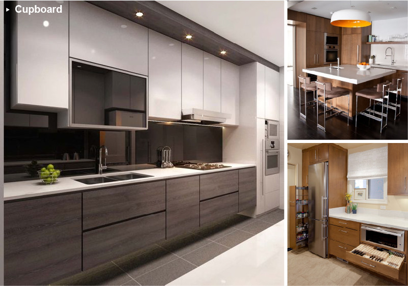 Synchronized Wood Grain HPL For Laminate Sheet Kitchen Cabinets