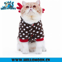 Dotted Elk Hoodies Custome Cute Cat Clothes