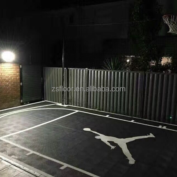 Portable Outdoor Interlocking Sports Basketball Court Flooring