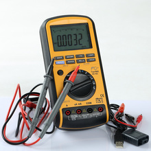 50000 counts digital multimeter MS8218 with True RMS and USB, MS8218 digital and analog multimeter with RS232 and software