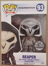 Limited edition Funko pop Overwatch white Bleach Reaper POP game action figures