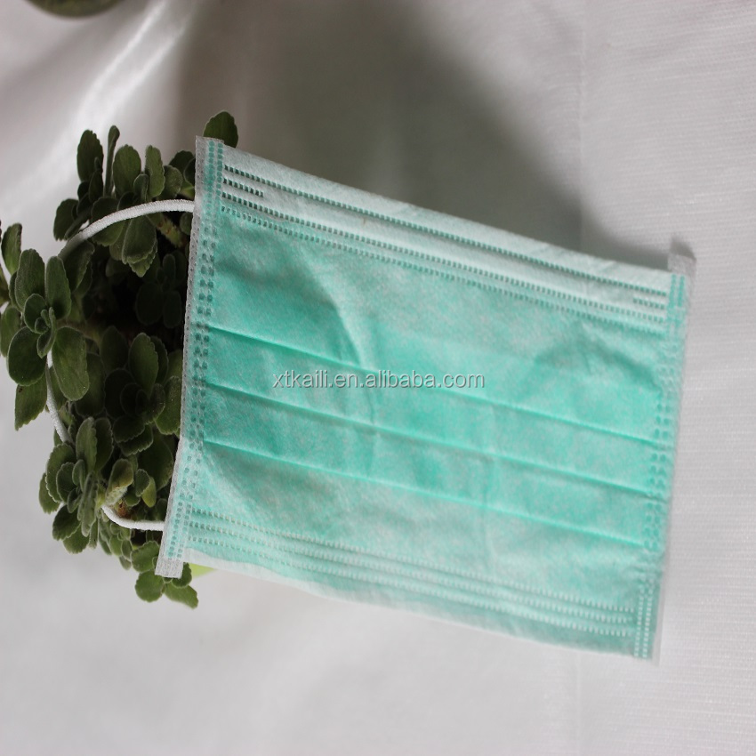high quality wholesale earloop clinic use 3ply non woven face mask