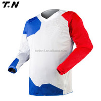 Custom sublimation printing motorcross jersey for teams
