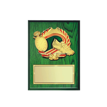 Football Wood Awards Plaque Souvenir