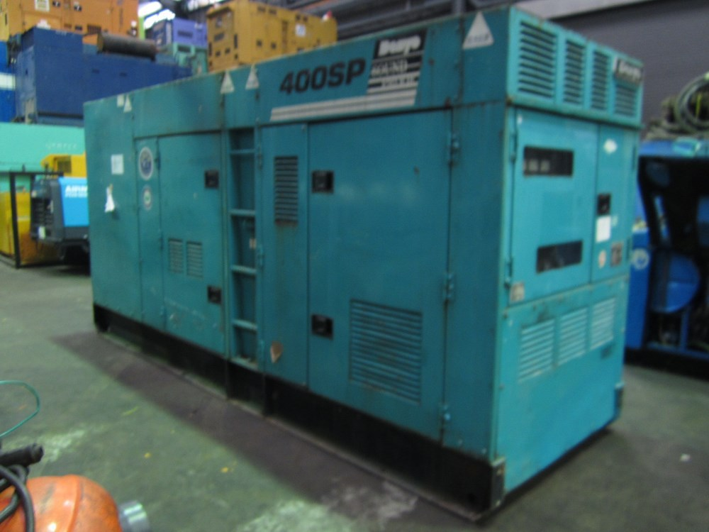 DENYO DCA400SPM 340 KVA 50 HZ, 400 KVA 60 HZ GENERATOR FOR SALE