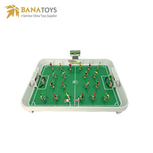 Most popular football table game soccer field