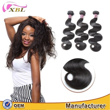 XBL 7A grade virgin Brazilian hair weaving body wave wholesale price Brazilian hair