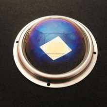 Aspheric Lens 100D 120 degree Glass,BK7,fused silica,borosilicate material of optical LED component KL-HB100-120