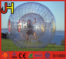 Fashionable Sports Entertainment Inflatable Body Zorb Ball For Bowling