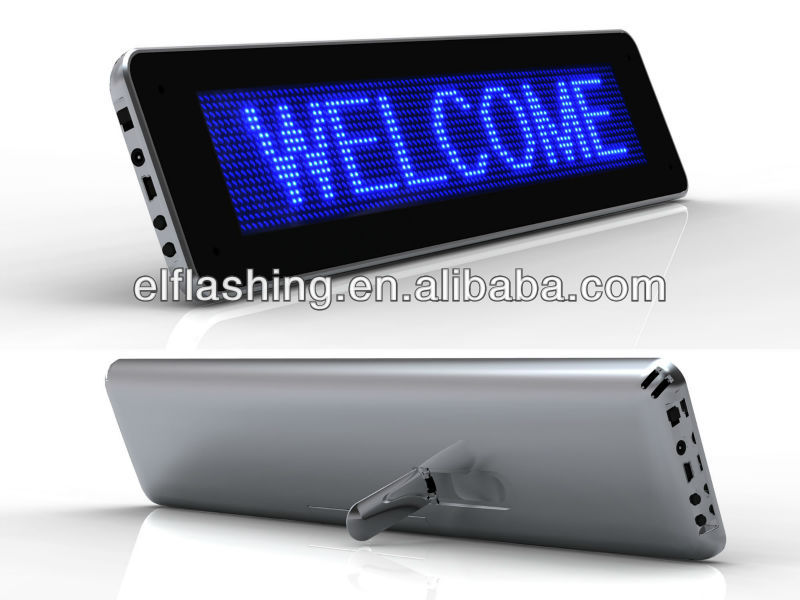 LED message Screen Display high resolution led desk screen Display