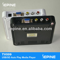 portable dvd player with vga port/vga output dvd player