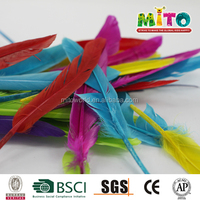 high quality assorted synthetic feathers for crafts