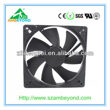 120*120*25mm 12V 24V DC EC AC modems CPU routers dc box fan