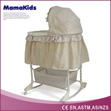 China suppiler 4 in 1 function wholesale electric baby swing bassinet
