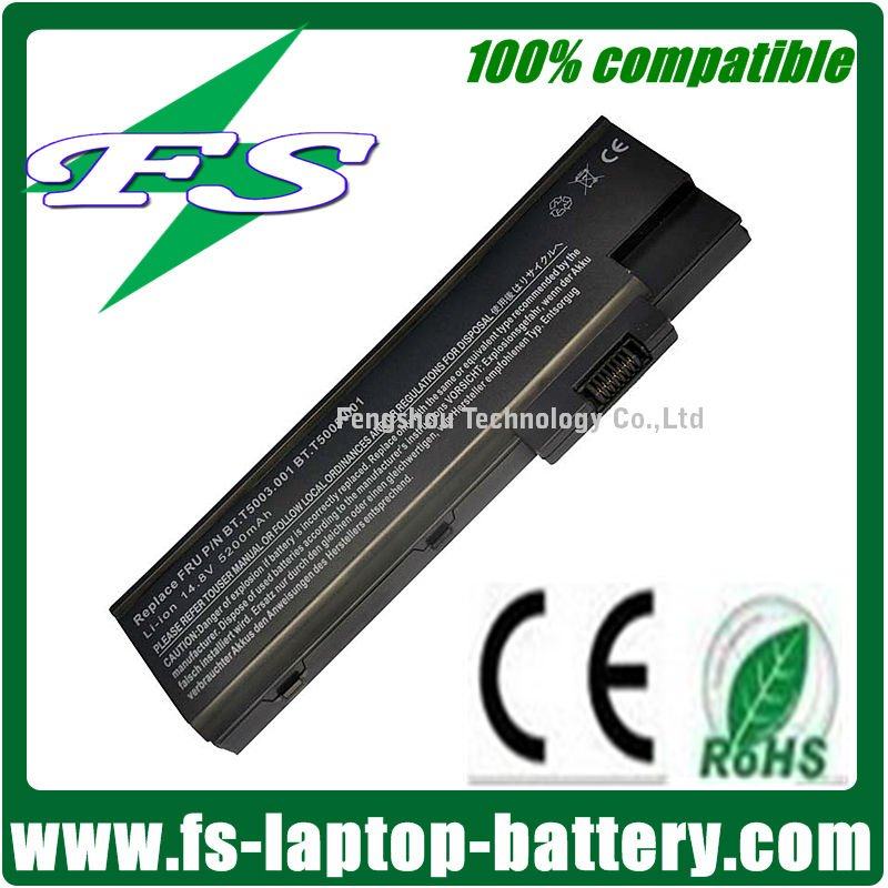 BT.T5003.001series,4UR18650F-1-QC192 Notebook Battery for Acer Aspire 1680,TM4000 series