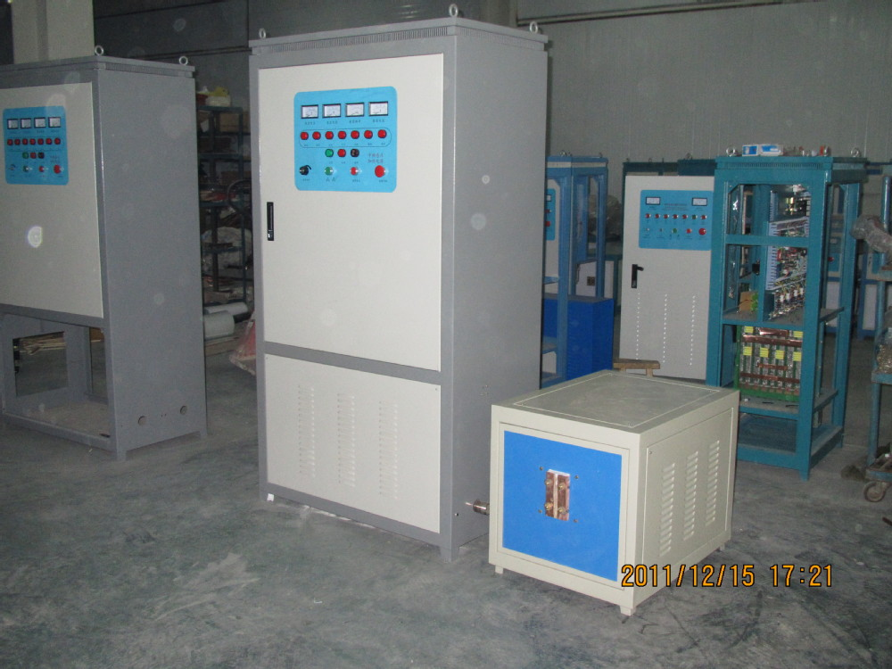 fullly functional magnetic Medium Frequency Induction heating furnace