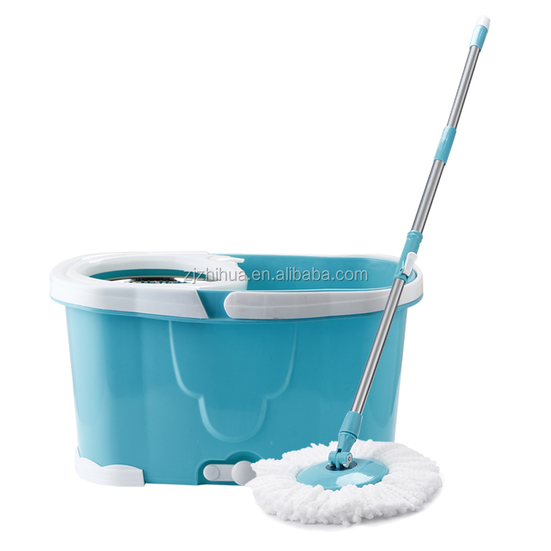 hand press floor mop magic mop 360 spin mop bucket