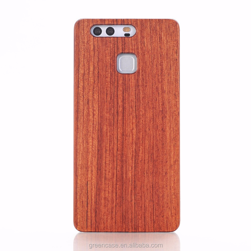 Hot Sale Engraving PC Wood Case for Huawei P9 for Huawei P9 Lite Wood Phone Cover for P9 for P9 Lite