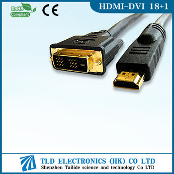 6FT DVI MALE TO HDMI MALE MONITOR CONVERTER VIDEO ADAPTER CABLE