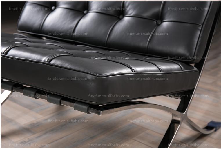 거실 가구 현대적인 스타일의 라운지 파빌리온 의자 가죽 ...