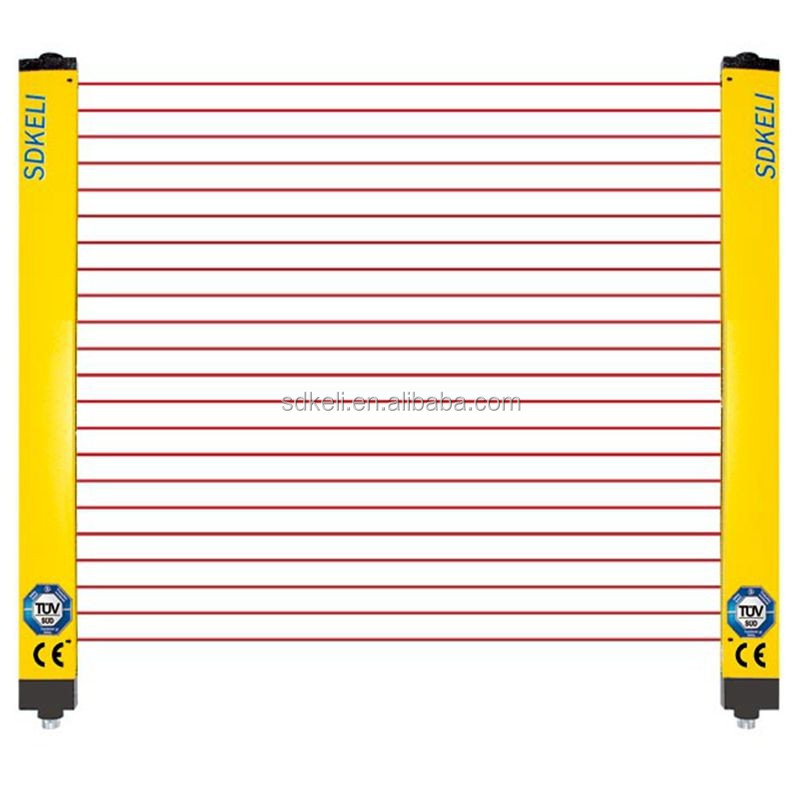 Type4/Cat4 safety light curtain/barrier, infrared safety sensor, punch/press machine guard