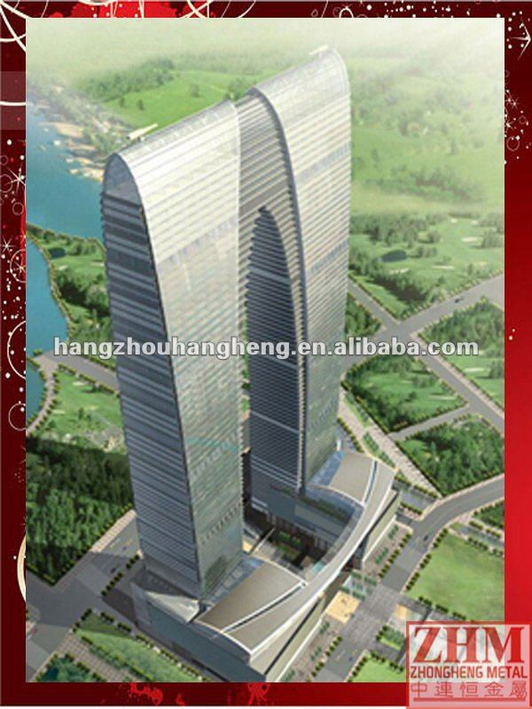Prefabricated Highrise&Residential Apartment Steel Structure