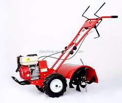 6.5HP/7HP double hand b rake good quality agricultural power tiller rotary cultivator tractor farm weed machinery 1 Year