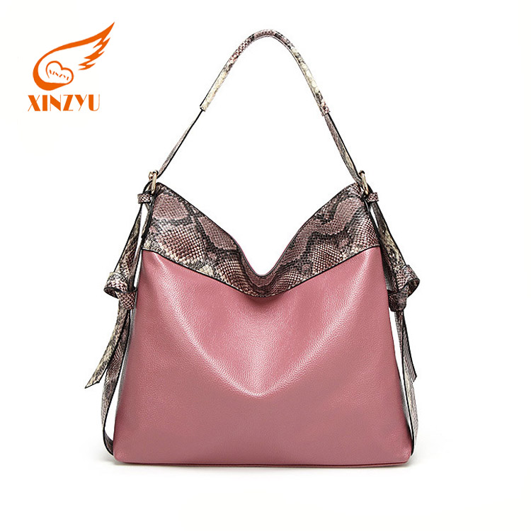 New Arrive Fashion Paris Bags Ladies Handbags Wholesale Snakeskin Design Hobo Bag