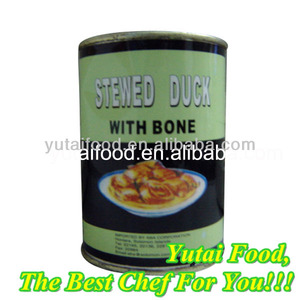 Canned Stewed Duck Halal Canned Meat