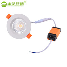 Competitive price super energy-saving recessed cri80 95*48mm 7w cob led downlight