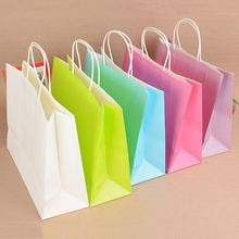 Most popular different types white kraft paper bags