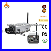 WIFI 3G Module SONY CCD Wireless BOX IP Camera Support SD Card (JD-CB204IP)