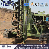 multi drilling purpose HF130Y auger pile drilling machines for sale