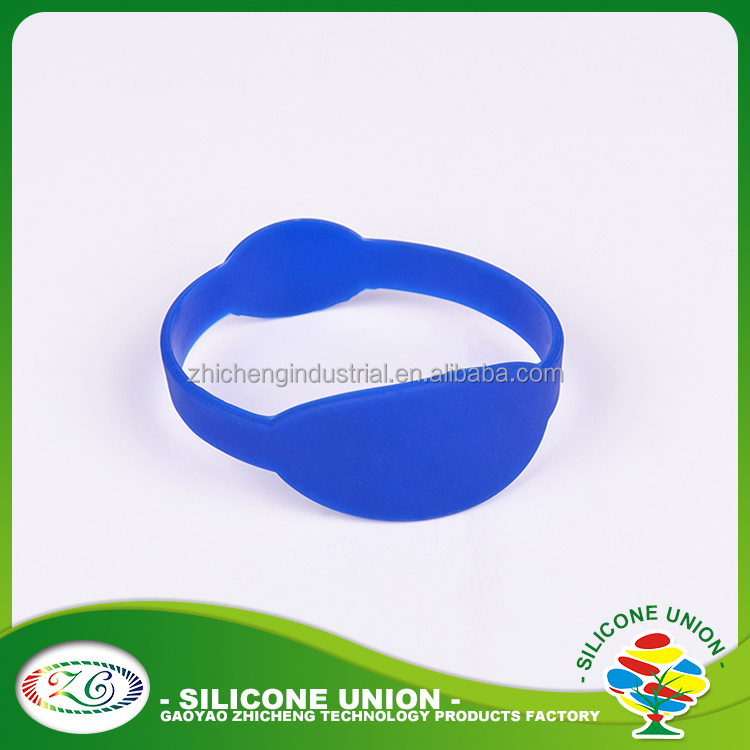 Advertising silicone rubber wrist watch strap
